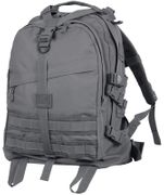 Rothco Large MOLLE Tactical Survival Gear Hydration Transport Pack in Gun Metal Grey 7233