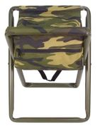 Hunting Camping Deluxe Stool with Pouch in Woodland Camouflage