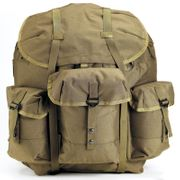Rothco Large G.I. Type Enhanced Alice Pack with Heavy Duty Anodized Aluminum Frame in OD Green