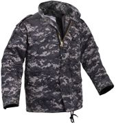 Tactical Operator M-65 Water Resistant Military Style Field Jacket in Subdued Urban Digital Marpat Camo