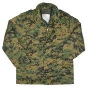 Tactical Operator M-65 Water Resistant Military Style Field Jacket in Woodland Digital Marpat Camo
