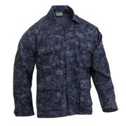 Rothco BDU Battle Duty Uniform Shirt in Midnight Blue Navy Digital Marpat Camouflage 5751