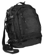 Rothco Move Out Camp Out Bug Out Tactical Travel Survival Backpack in Black