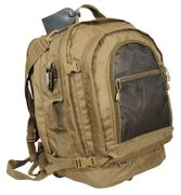 Rothco Move Out Camp Out Bug Out Tactical Travel Survival Backpack in Coyote Brown