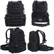 Rothco Multi-Chamber MOLLE Tactical Assault Pack in Black 25500