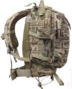 Rothco Large MOLLE Tactical Survival Gear Transport Pack in Crye Precision MultiCam Material 7234