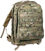 Rothco Tactical MOLLE II 3 Day Tactical Survival Gear Assault Pack in Crye MultiCam 40125