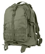 Rothco Large MOLLE Tactical Survival Gear Hydration Transport Pack in OD Green 72870