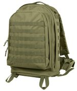 Rothco Tactical MOLLE II 3 Day Survival Gear Transport Assault Pack in Olive Drab 40169