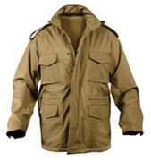 Rothco Military Style Soft Shell Tactical M-65 Field Jacket in Coyote Brown 5244