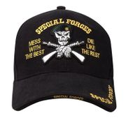 Special Forces Mess with the Best Die like the Rest Deluxe Low Profile Baseball Hat Cap