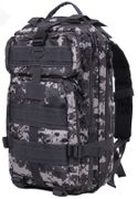 Rothco Medium Size Tactical MOLLE Survival Gear Transport Pack in Subdued Urban Digital Camo 2519