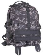 Rothco Large MOLLE Tactical Survival Gear Transport Pack in Subdued Urban Digital Camo 7569