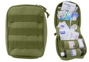 Rothco Tactical Survival MOLLE First Aid Field Medic Kit in OD Green