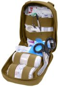 Rothco Tactical Survival MOLLE Trauma Field Medic Kit in Coyote Brown