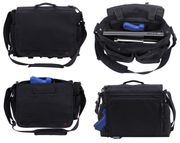 Rothco The Businessman Concealed Pistol Carry Messenger Bag in Black