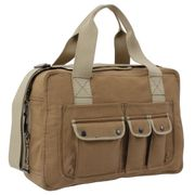 Rothco Two Tone Specialist Operator Carry All Shoulder Bag in Coyote Brown