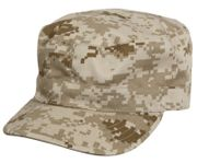 Rothco Poly Cotton US GI Style Fatigue Cap in Desert Digital Marpat Camouflage