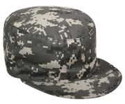 Rothco Poly Cotton US GI Style Fatigue Cap in Subdued Urban Digital Marpat Camouflage
