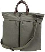 Rothco Vintage Canvas Fighter Pilots Helmet Bag in OD Green