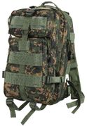 Rothco Medium Size Tactical MOLLE Survival Gear Transport Pack in Woodland Digital Marpat Camo 2559