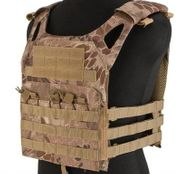 Sentry JPC Jumper Crawler Tactical MOLLE Plate Carrier Vest in HLD Scorpion Camo Youth Kids Size