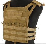 Sentry JPC Jumper Crawler Tactical MOLLE Plate Carrier Vest in Tan Youth Kids Size