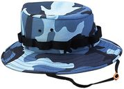 Rothco Military Style Cotton Polyester Blue Sky Camouflage Boonie Hat