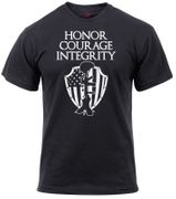 Soldiers Honor Courage Integrity Athletic Fit T-Shirt