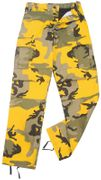 Rothco BDU Battle Duty Uniform Combat Pants in Bumble Bee Stinger Yellow Fashion Camouflage 8875