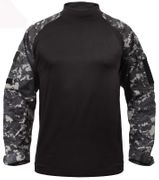 Rothco Tactical Combat Shirt in Subdued Urban Digital Camo 90115