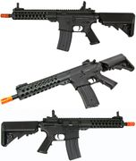 """JG Golden Eagle M4 Airsoft Gun with 16"""" TR Vented Free Float MOE Handguard GE-6612"""