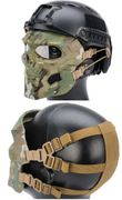 Terminator Cyborg Skull Airsoft Messenger Mask Eye and Face Protection in MultiCam