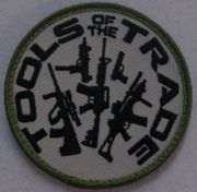 Tools of the Trade Airsoft Milsim Hook and Loop Morale Patch