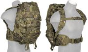 Lancer Tactical Tropical Camo 600D Polyester Lancer Tactical EDC FAST MOLLE Pack Backpack CA-353MT