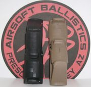 Type 1 AFG Angled Tactical Foregrip in Dark Earth for Airsoft Guns
