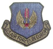 US Air Forces in Europe Military Patch