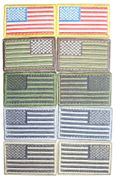 USA Hook and Loop Flag Patches