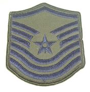 USAF Master Sergeant Military Patch