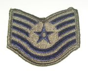 USAF Technical Sergeant Small Patch