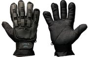 Valken V-Tac Full Finger Plastic Back Tactical Airsoft Gloves in Black
