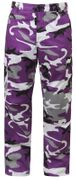 Rothco BDU Battle Duty Uniform Combat Pants in Ultra Violet Purple Fashion Camouflage 7925