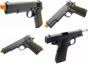 WE-Tech Full Metal 1911 Airsoft Gun GBB Gas Blowback Training Pistol with TWO Mags