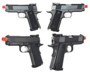 Well Full Metal G193 Compact 1911 Style Airsoft Gun CO2 Powered Blowback Training Pistol