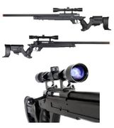 Well Type 97 L97 Bolt Action Airsoft Sniper Rifle with Scope in Black MB04