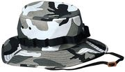 Rothco Military Style Cotton Polyester White Snow City Camouflage Boonie Hat