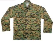 Rothco BDU Battle Duty Uniform Shirt in Woodland Digital Marpat Camouflage 8690