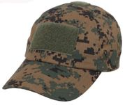 Rothco Poly Cotton Woodland Digital Marpat Camouflage Tactical Operators Hat