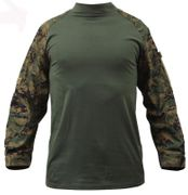 Rothco Tactical Combat Shirt in Woodland Digital Marpat Camouflage 90005