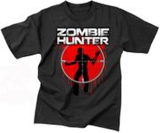 Vintage Style Zombie Hunter Target T-Shirt
